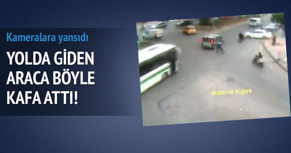 Trafik kazaları MOBESE'ye takıldı