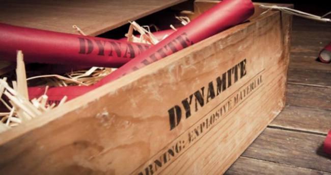 Define dinamiti can aldı!