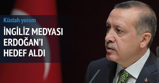 İngilizler'den Erdoğan için küstah yorum