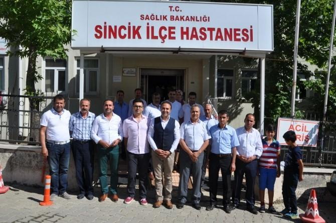 İşadamı Yaşar'dan Hastaneye Bayram Ziyareti