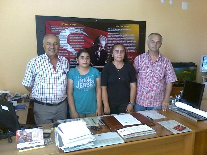 Burhaniye Hürriyet Ortaokulunun Başarılı Öğrencileri