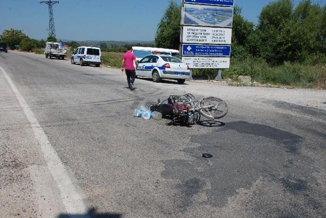 Bayramiç'te Trafik Kazası, 1 Yaralı