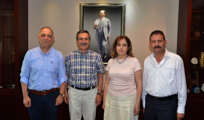 Demirspor'un Yeni Yönetiminden Başkan Ataç'a Ziyaret