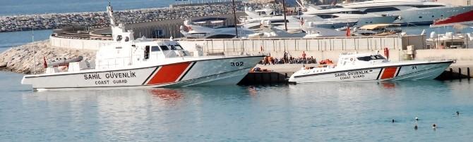 Didim'de Sahil Güvenlik 91 Suriyeli Göçmeni Kurtardı