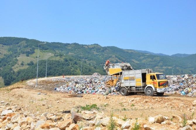 Düzce'de Günde 300 Ton Çöp Taşınıyor