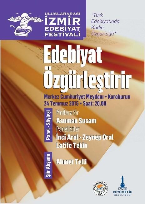 İzmir'de Uluslararası Edebiyat Festivali Başlıyor