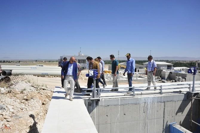 Karaman'da İbrala Barajı İçme Suyu Projesi Çalışmaları Sürüyor