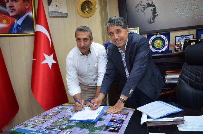 Kırıkhan'da Kent Ormanı Sözleşmesi İmzalandı