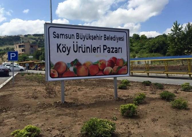 """Büyükşehir'den """"Köy Ürünleri Pazarı"""""""