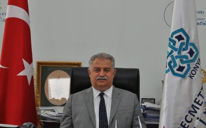 NEÜ Rektörü Şeker'den Terör Olaylarına Kınama