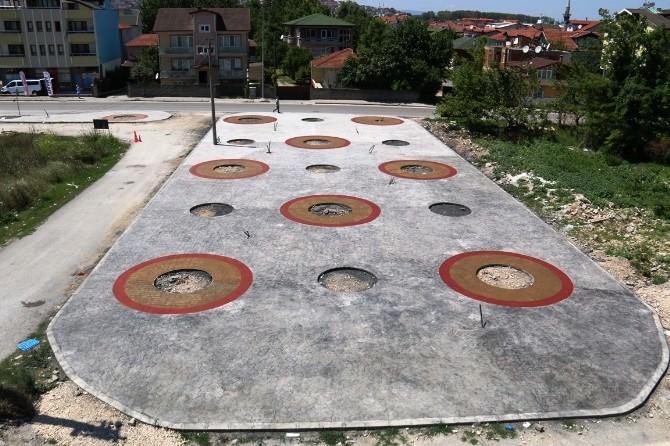 Serdivan'da İnşa Edilen Meydan Projesinde Sona Gelindi
