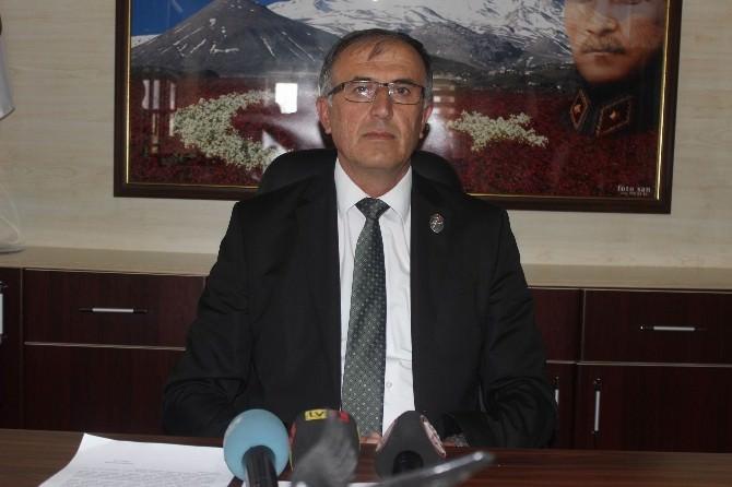Türkiye Harp Malülü Gaziler Şehit Dul Ve Yetimleri Derneği Kayseri Şube Başkan Yardımcısı Süleyman Özdemir: