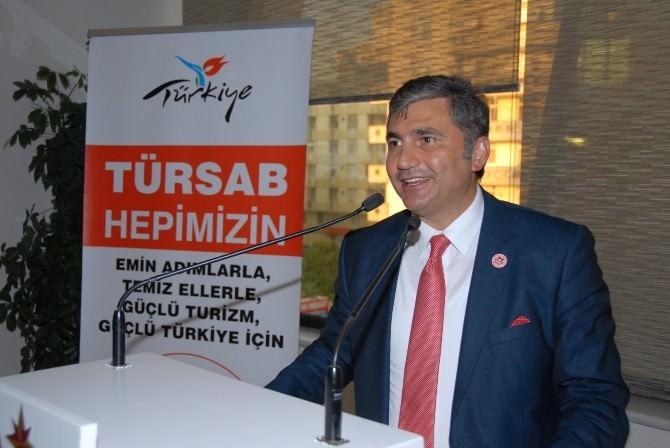 TÜRSAB Başkan Adayı Çakmak, Adana'da Turizm Acentalarının Yetkilileriyle Bir Araya Geldi