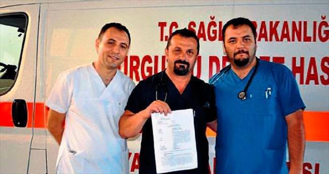 Doktora hakarete 7 bin 80 lira para cezası