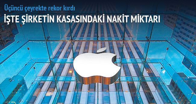 Apple'ın kasası 200 milyar $'ı aştı