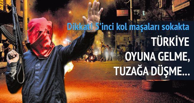 Karanlık güçlerin sokak senaryosu