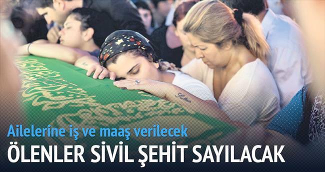 Suruç kurbanları sivil şehit sayılacak