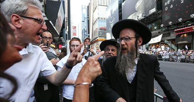 Siyonizm karşıtı Yahudilere linç girişimi
