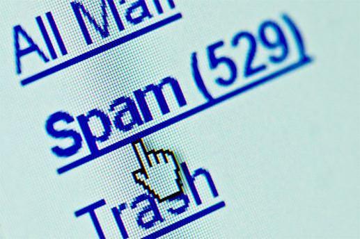 Spam e-posta sayısında düşüş