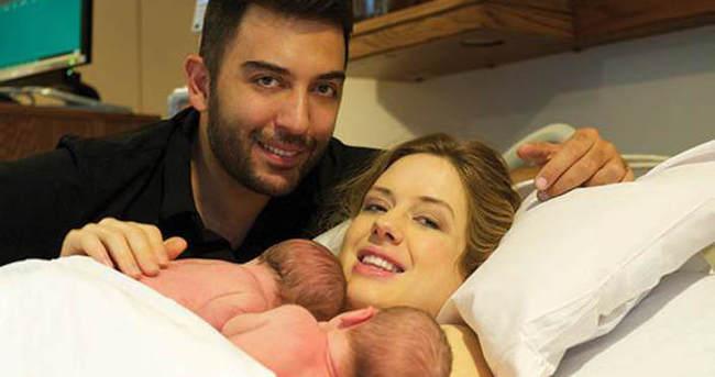 Wilma Elles doğuma oryantal yaparak hazırlandı