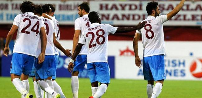 Trabzonspor deplasmanda turladı