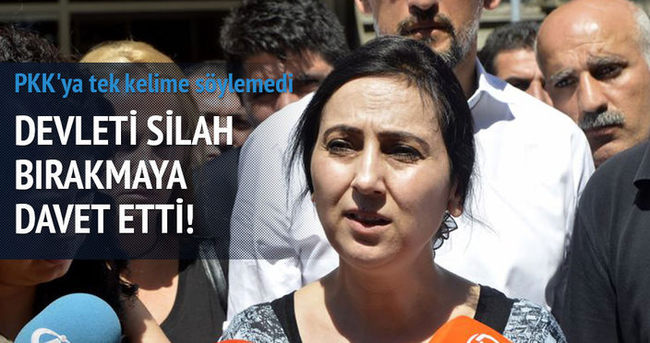HDP'li Figen Yüksekdağ'dan Diyarbakır açıklaması