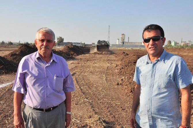 Yüreğir Karşıyaka Sanayi Sitesi İnşaatı Başladı