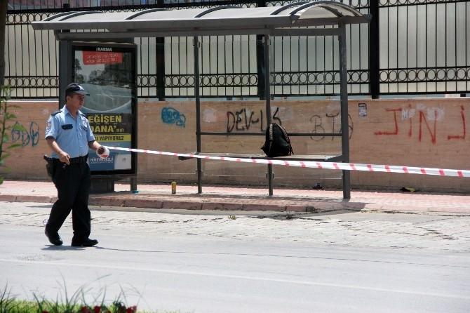 Adana'da Çifte Şüpheli Çanta Paniği