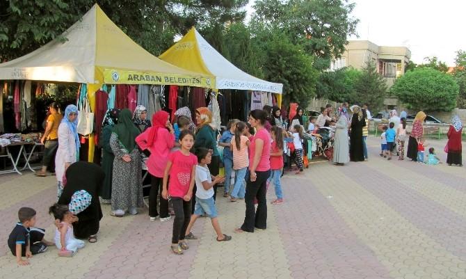 Araban'da Kosan Vakfı Kur'an Kursu İnşaatı Yararına Kermes Açıldı