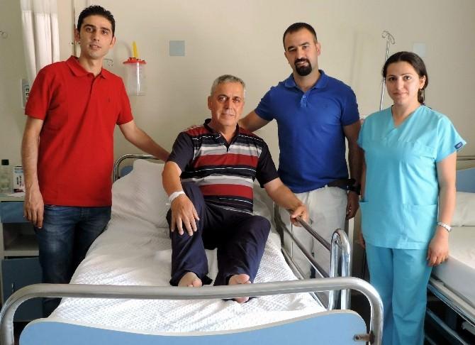 Aydın'da İlk Defa Laparoskopik Nefrektomi Ameliyatı Gerçekleştirildi