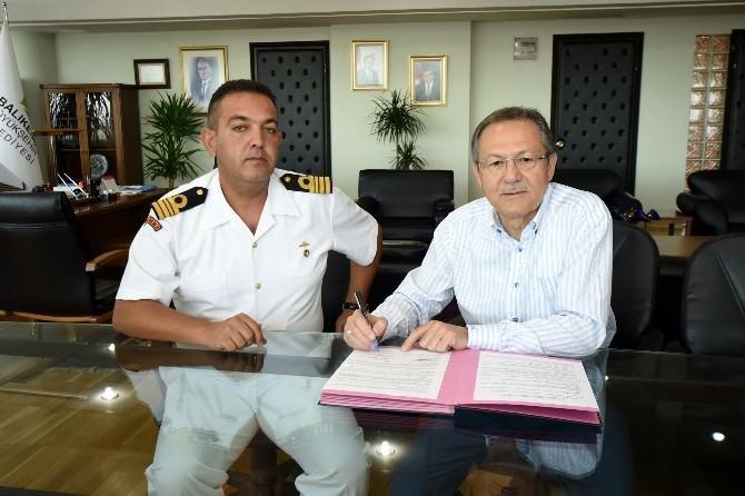 Erdek Sahil Güvenliği İçin Protokol İmzalandı