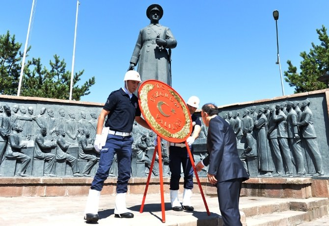 Erzurum'da 23 Temmuz Coşkusu