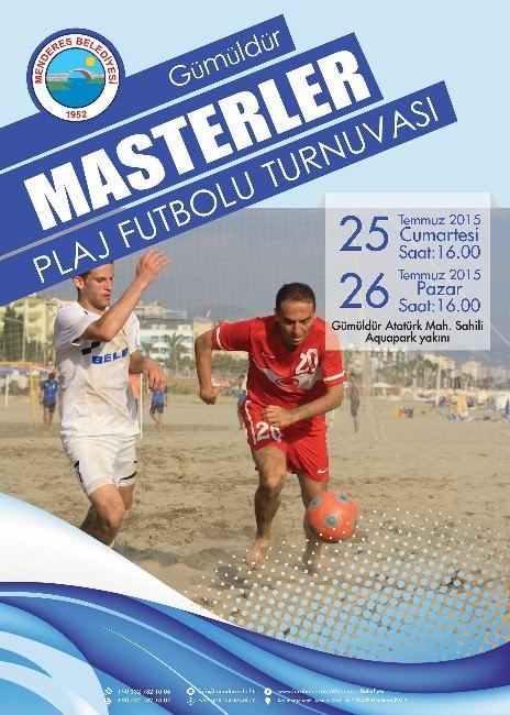 Menderes'te Plaj Futbol Turnuvası