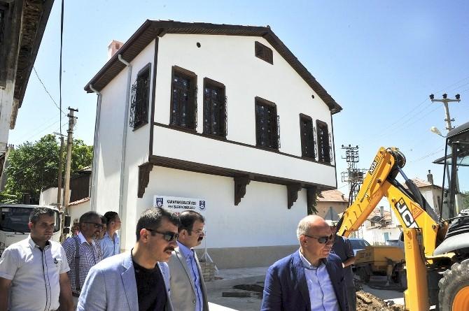 Karaman'da İki Asırlık Tarihi Ev Turizme Kazandırıldı