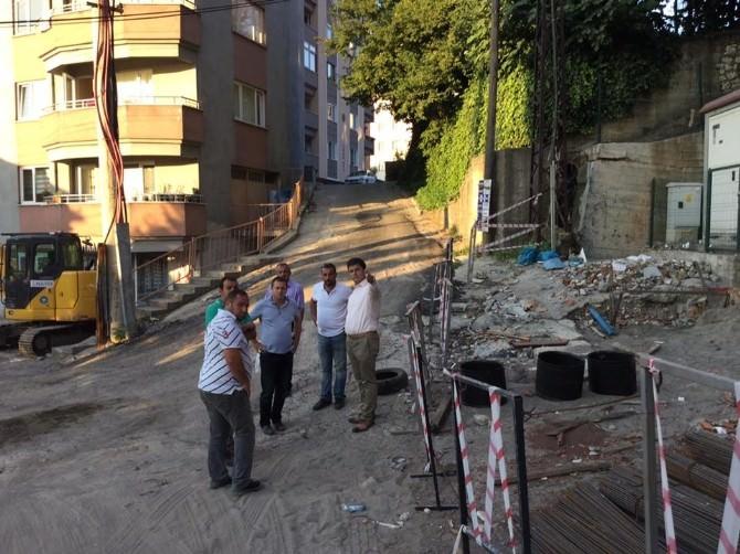 Kozlu Belediyesi Çalışmalarını Sürdürüyor