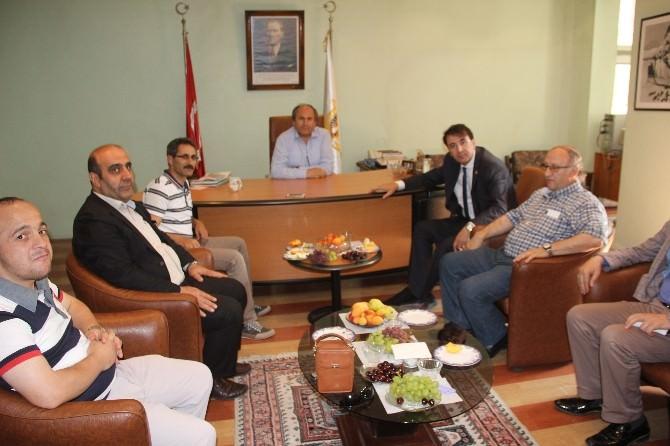 Milletvekili Aydemir'den Dagc'ye Ziyaret