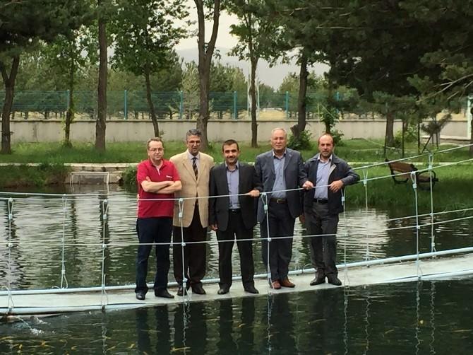 Milletvekili Aydın'dan Su Ürünleri Fakültesine Ziyaret