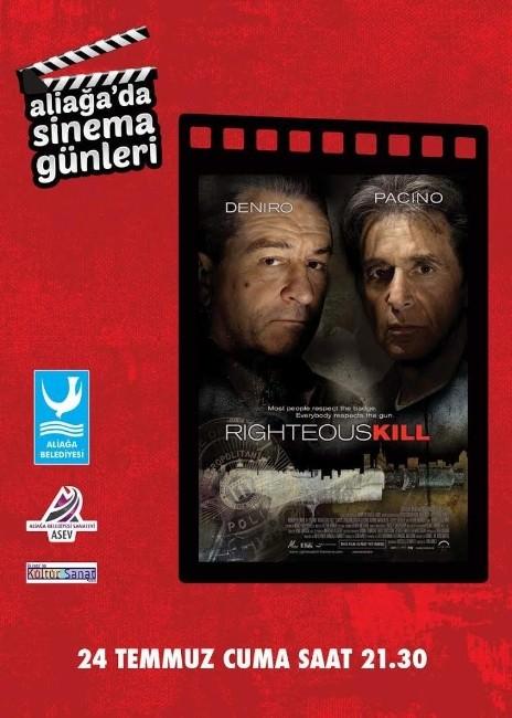 Aliağa'da Sinema Şöleni 'Orijinal Cinayetler' Filmi İle Devam Ediyor