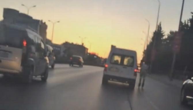 Patenci Gencin Trafikte Ölümle Dansı