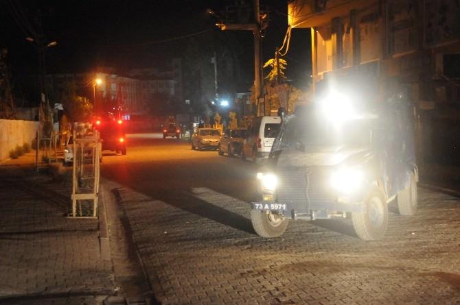 Cizre'de İzinsiz Gösteriye Polis Müdahale Etti
