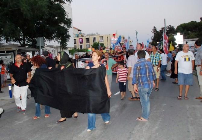 Didim'de Suruç Protestosu