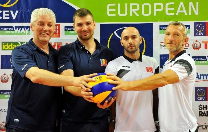 2015 CEV Erkekler Avrupa Ligi 3. Hafta Maçı Çanakkale'de Oynanacak