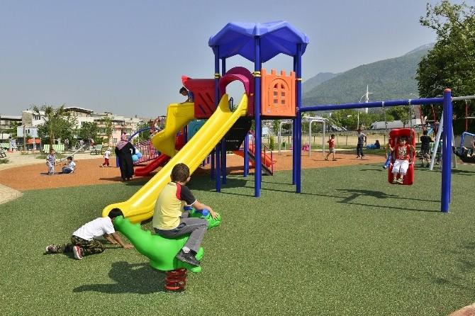 Yıldırım'da Çocuk Parkları Yenilendi