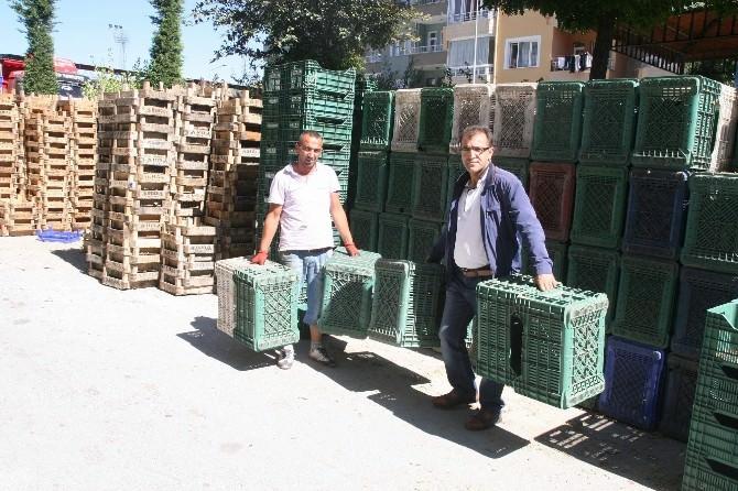 Yozgat'ta Pazarcı Esnafı Toptancı Halini Bekliyor