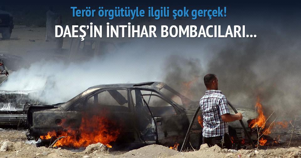DAEŞ'in intihar bombacıları