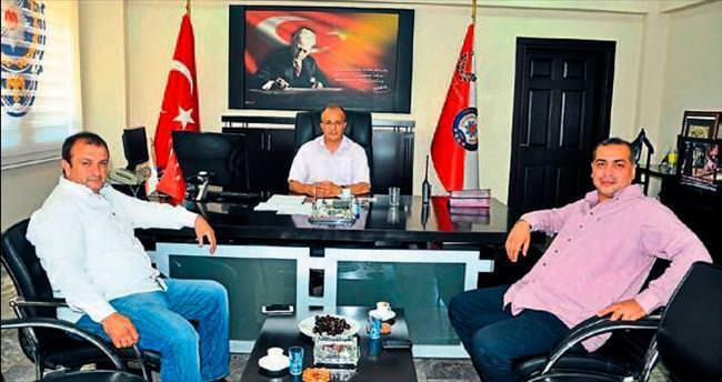 Emniyet Müdürü Salim Çakan'a ziyaret