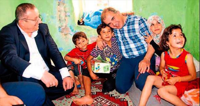 Suriyeli küçük Ahmet'e Delican'dan şefkat eli