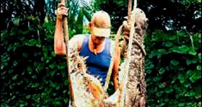 37 yılda 20 bin timsah avladı