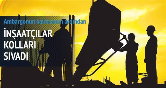 İnşaatçılardan İran'a ilk adım