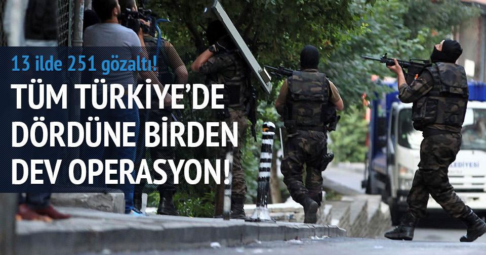 İstanbul'da terör operasyonunda 1 ölü